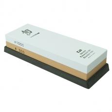Brusný kámen kombinovaný KAI DM-0708, zrnitost 300/1000