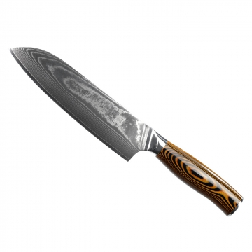 Santoku nůž Seburo SUBAJA II Damascus 190mm