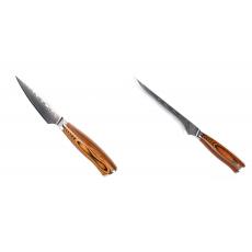 Nůž na ovoce a zeleninu Seburo SUBAJA Damascus 90mm +...