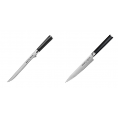 Filetovací nůž Samura Mo-V (SM-0048), 218 mm + Univerzální nůž...