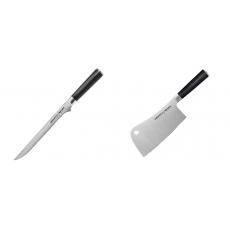 Filetovací nůž Samura Mo-V (SM-0048), 218 mm + Kuchařský...