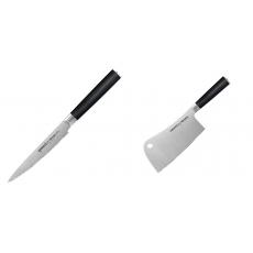Nůž na rajčata Samura MO-V (SM-0071), 120mm + Kuchařský...