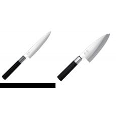 Univerzální nůž KAI Wasabi Black (6715U), 150 mm + Vykosťovací...