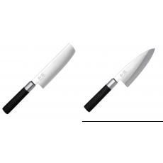 Wasabi Black Nakiri KAI 165mm + Vykosťovací nůž KAI Wasabi Black...