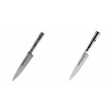 Univerzální nůž Samura Bamboo (SBA-0021), 125 mm + Univerzální...