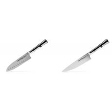 Malý Santoku nůž Samura Bamboo (SBA-0093), 137 mm + Šéfkuchařský...
