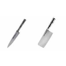 Univerzální nůž Samura Bamboo (SBA-0021), 125 mm + Kuchyňský...