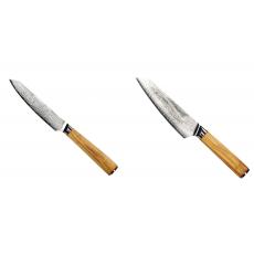 Univerzální nůž Seburo HOKORI EDGE Damascus 130mm + Šéfkuchařský...