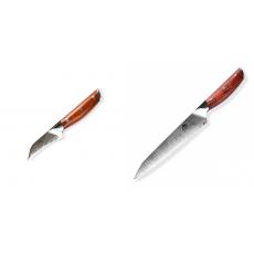 Japonský nůž na okrajování ovoce a zeleniny Dellinger Rose-Wood...